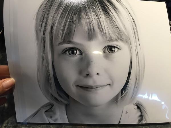 Amelia's school photo...