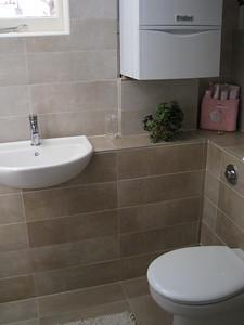 2nd bathroom also new, a bit smaller