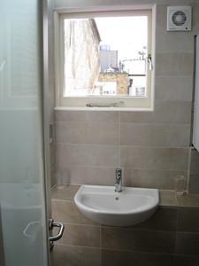 2nd bathroom looking out windown