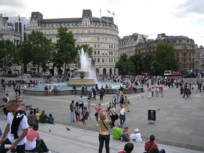 Around Trafalgar Square