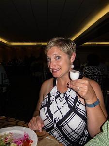 Gab with dessert
