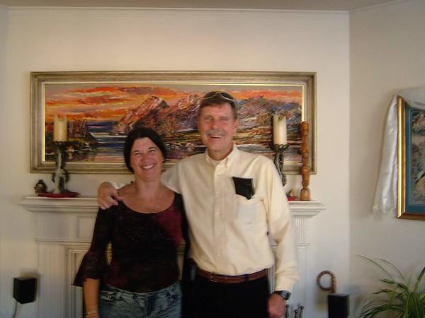 from Lyn Bollen - Bob with Lyn