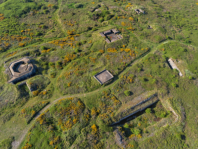 Longis Common WW2 buildings, Alderney