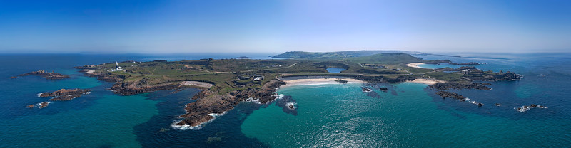 Corblets panorama, Alderney