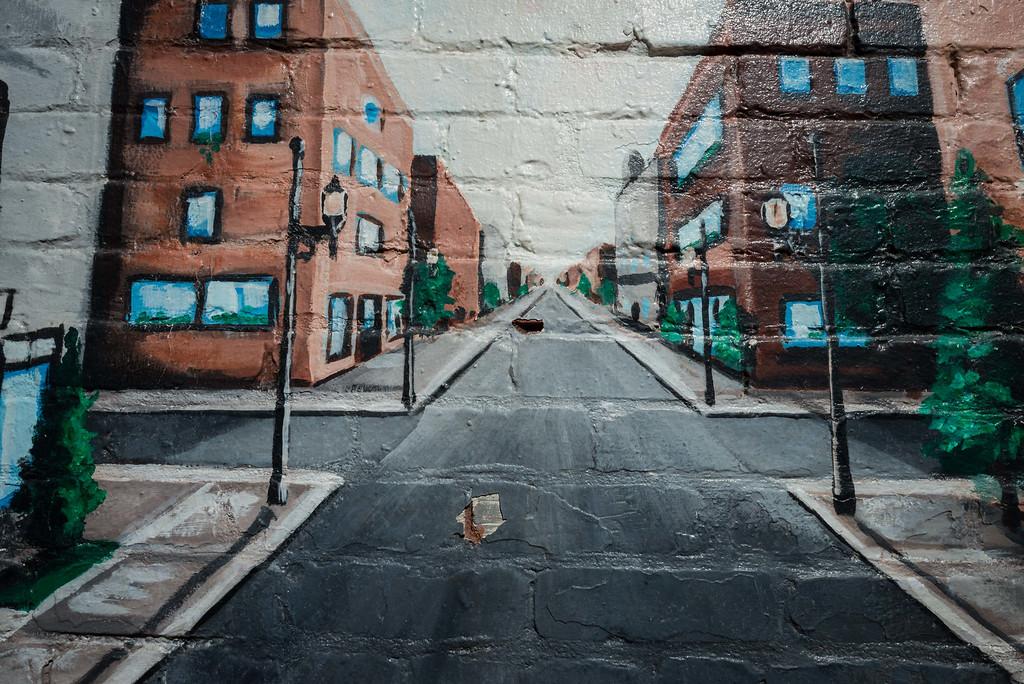 Street on a Street