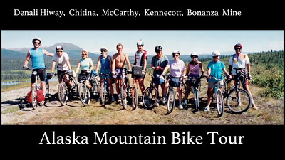Alaska Mountain Bike tour - denali Highway, Kennecott, Bonanza Mine