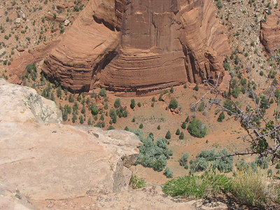 Above and In Canyon De Chelly