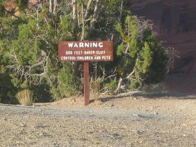 Top of Canyon De Chelly