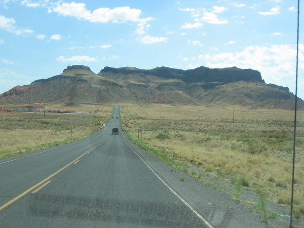 On the road to Canyon De Chelly