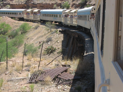 Verde Canyon Railroad Tour