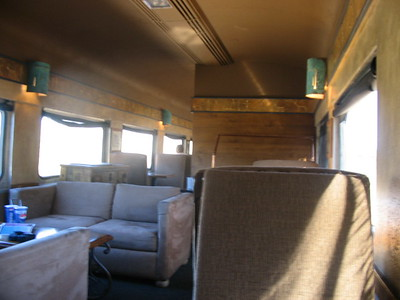 Inside Train Car