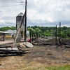 Crews at Bob's Turkey Farm in Lancaster continue cleanup efforts on Friday morning following the Thursday evening fire that killed 7,000 just-hatched turkeys. SENTINEL & ENTERPRISE / Ashley Green