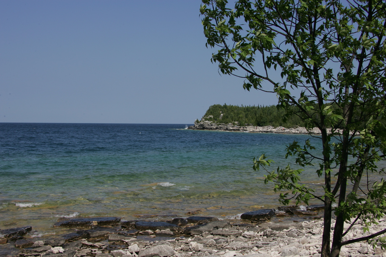 Rock Beach and Georgian Bay -- Bruce Peninsula, ON