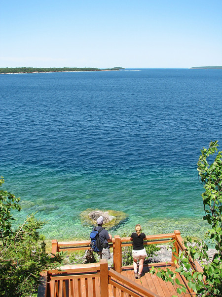 Georgian Bay from the Bruce Peninsula, ON