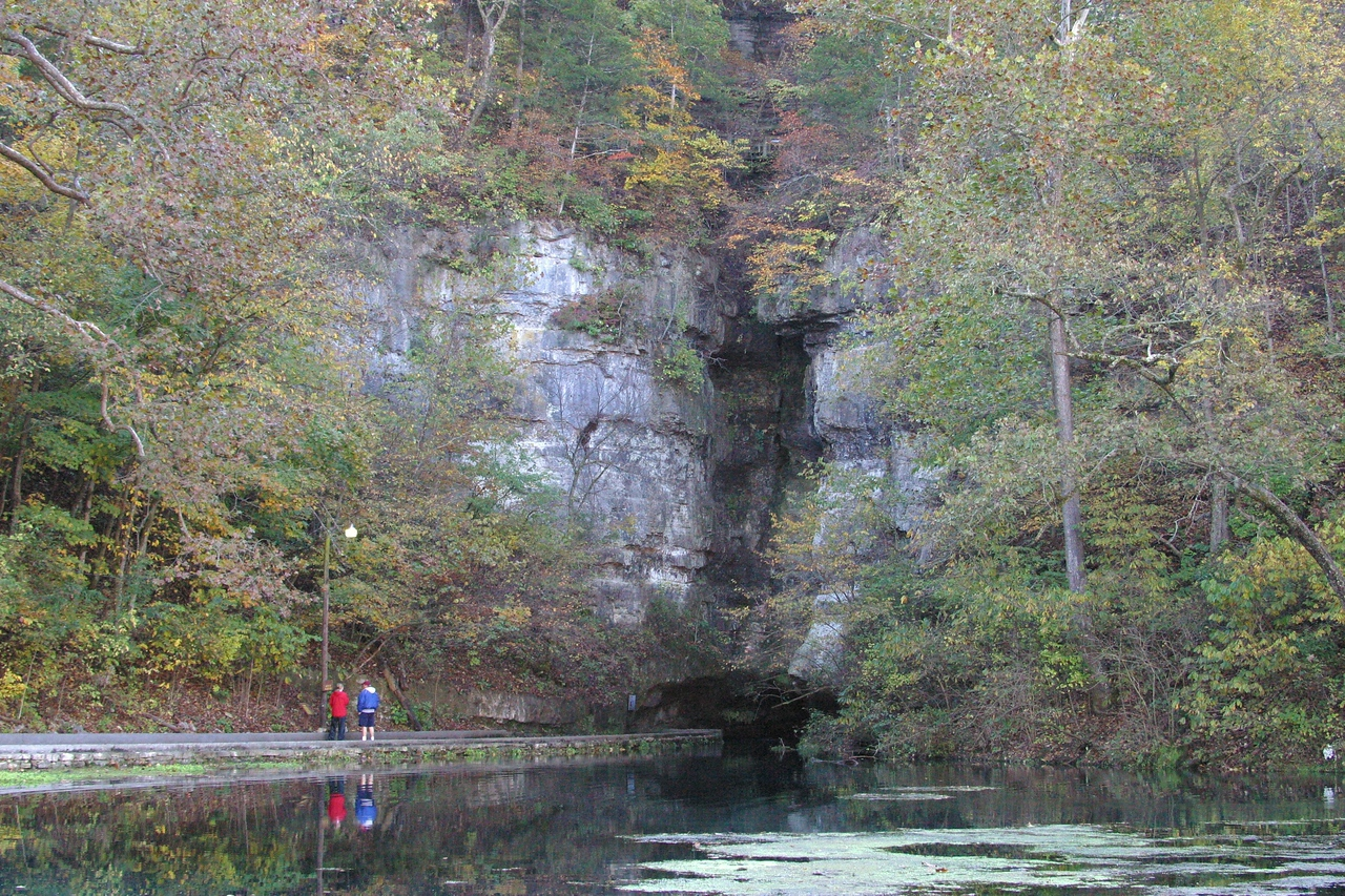 The Cave at Roaring River State Park, MO