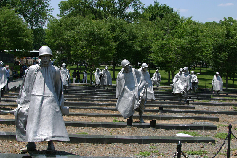 Korean War Memorial -- National Mall - Washington, DC