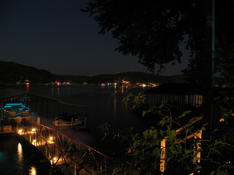 Nighttime at Lake of the Ozarks, MO