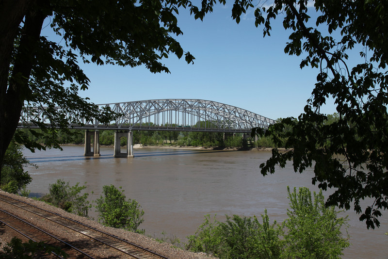 Missouri River Bridge -- Jefferson City, MO