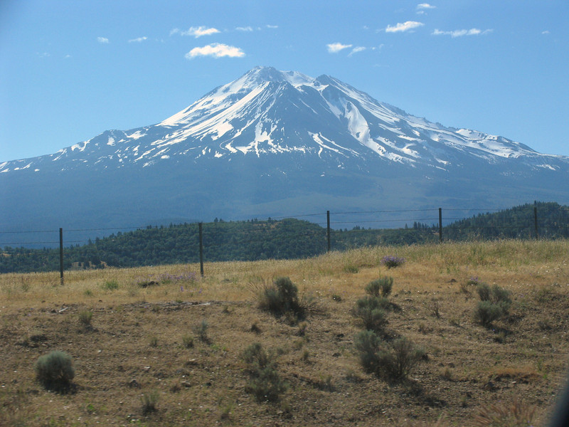 Mount Shasta, CA from the North