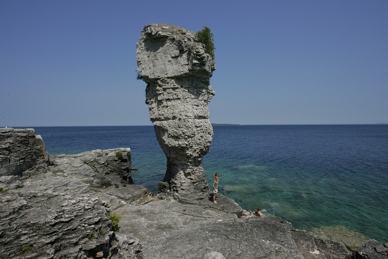 Large Flowerpot on Flowerpot Island -- Georgian Bay, ON