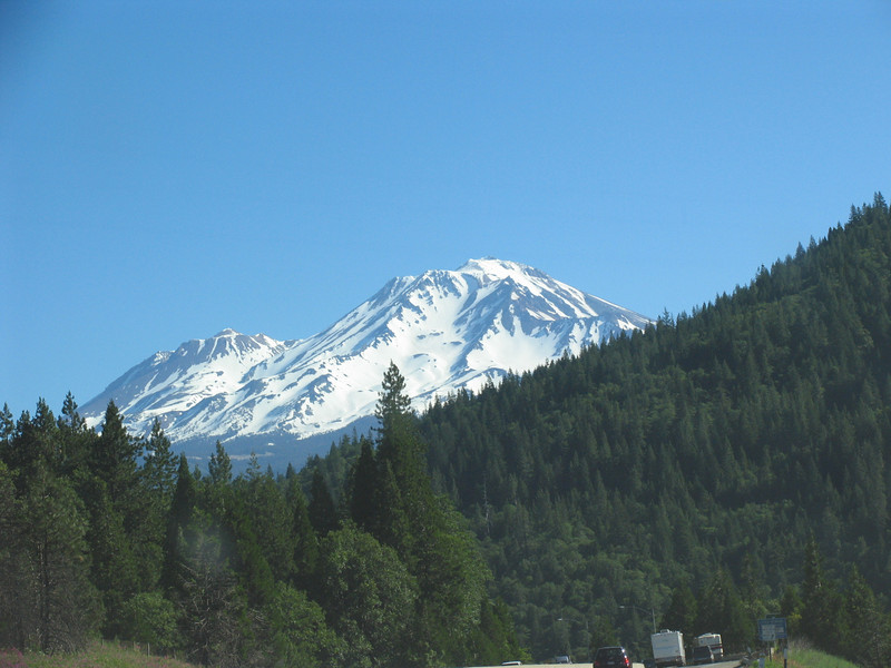 Mount Shasta, CA from the South