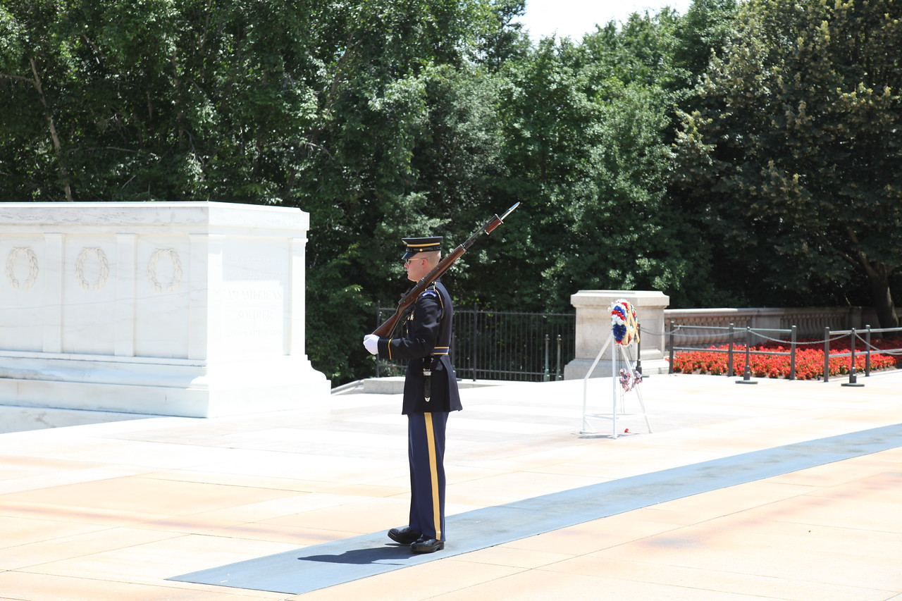 Tomb of the Unknowns -- Arlington National Cemetery
