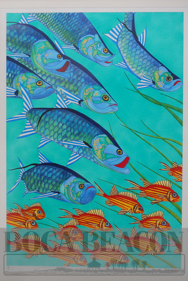 """Whidden's Marina """"Local Color"""" art festival March 8, 2014"""