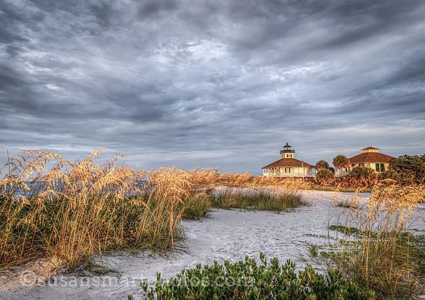 Boca Grande Lighthouse at daybreak