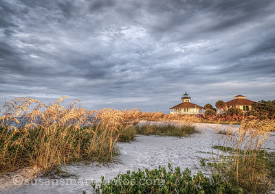 Boca Grande Lighthouse at daybreak