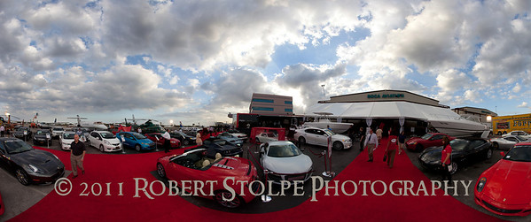 The duPont Registry Live! Hanger Party at 5th Annual Boca Raton Concours d' Elegance