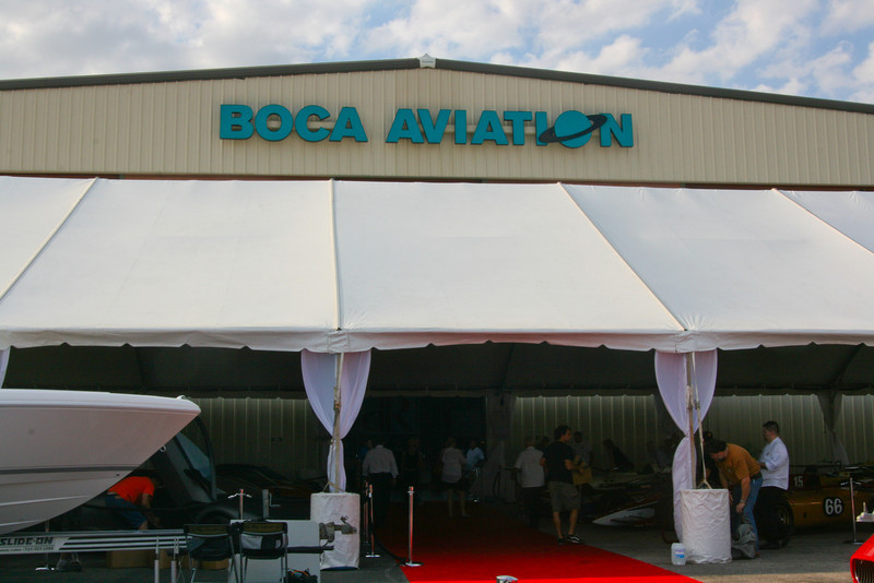 5th Annual Boca Raton Concours d' Elegance DuPont Registry Live! at Boca Aviation