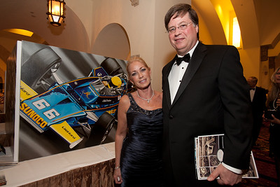 5th Annual Boca Raton Concours Gala, Reception and Dinner Show featuring Jay Leno, the presentation of the Automotive Lifetime Achievement Award to Wayne Huizenga, and the Live Auction