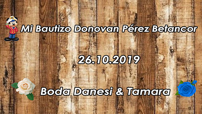 Boda Danesi y Tamara- Bautizo Donovan