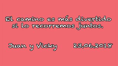 Boda Juan y Vicky