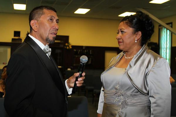 Los 25 años de aniversario de los pastores Angie y Alfredo 08-03-2013
