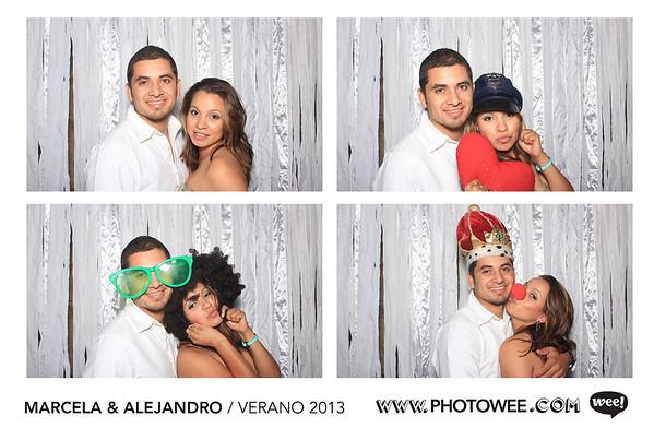 Marcela y Alejand