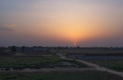 Bihar sunset