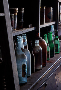 The bottles in Bodie tell a story of their own.