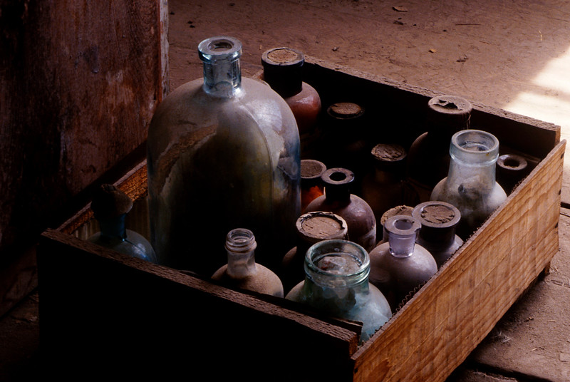 The solubility of gold in a water and cyanide solution was part of the way gold was extracted from the ore.