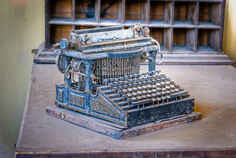 """Smith Premier Typewriter"""