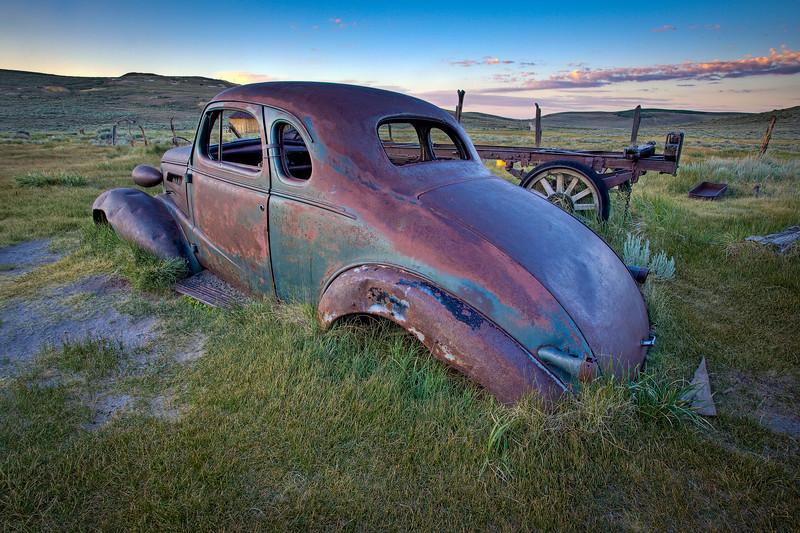 """Bodie Car at Dawn"""