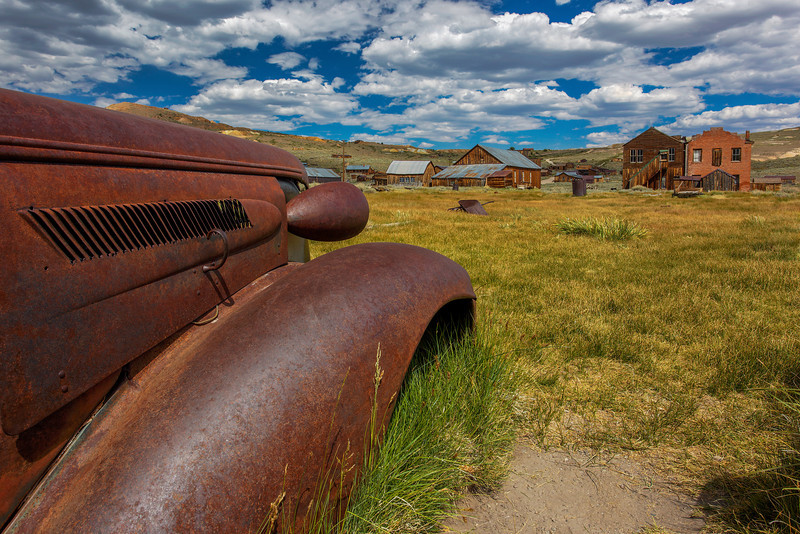 """1937 Chevrolet in Bodie Ghost Town"""