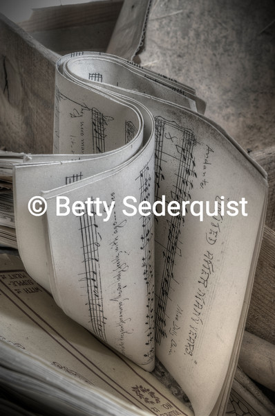 Dusty Sheets of Music
