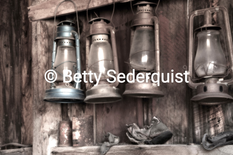 Bodie Firehouse Lanterns