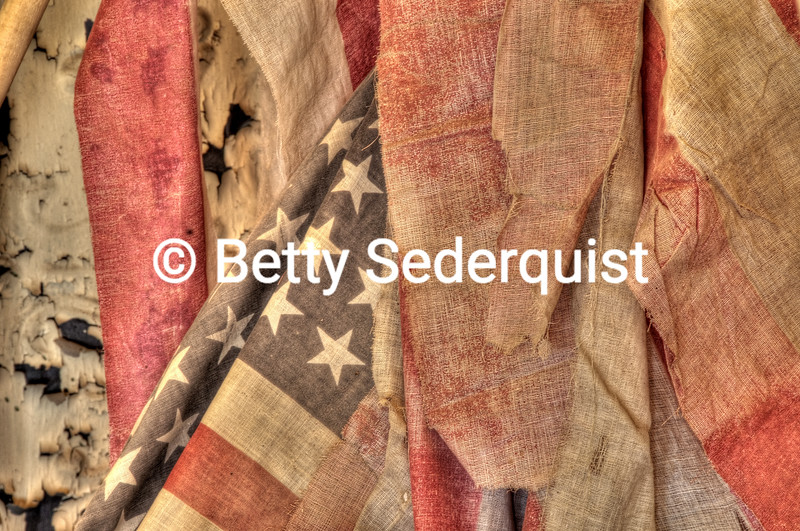 Rotting Flags, Ghost Town of Bodie