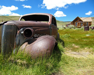My favorite old car in the town of Bodie.