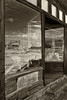 Reflection, Boone Store, Bodie Ghost Town.