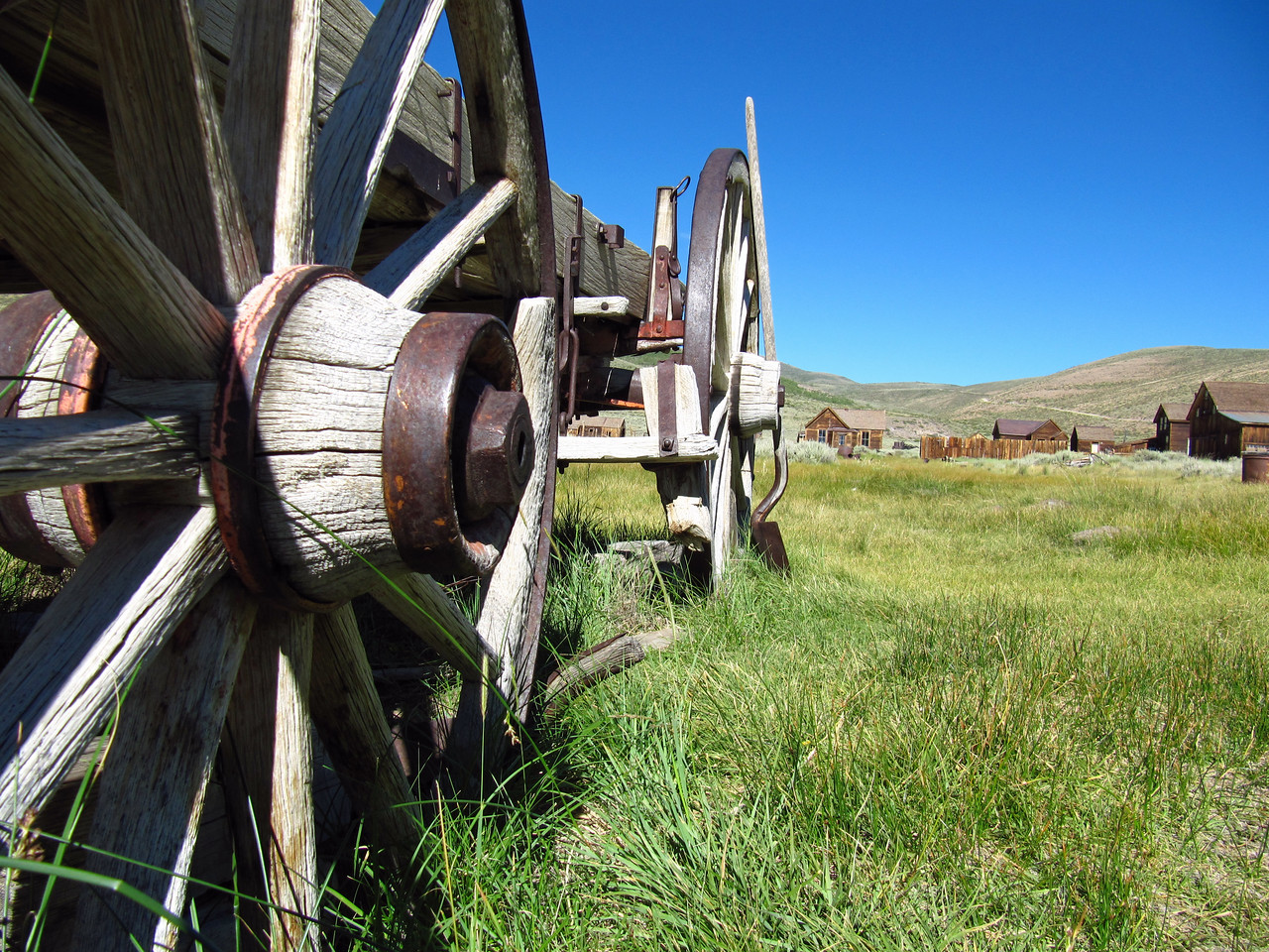 One of my favorite old wagons in the town of Bodie.