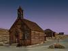 Methodist Church, Dawn, Bodie Ghost Town.