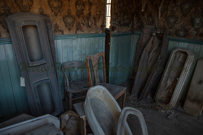 387A8136 Casket storage in morgue